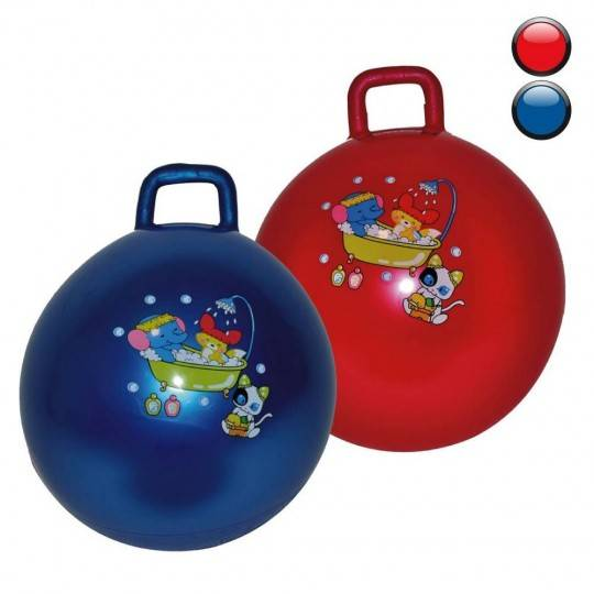 Piłka do skakania średnica 50cm INSPORTLINE dwa kolory,producent: Insportline, zdjecie photo: 1   online shop klubfitness.pl   s