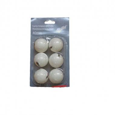 Piłeczki do tenisa stołowego ALLRIGHT białe 6 sztuk,producent: ALLRIGHT, photo: 1