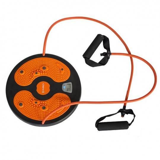 Twister obrotowy z linkami i licznikiem KO03 HMS pomarańczowy,producent: HMS, zdjecie photo: 1 | online shop klubfitness.pl | sp