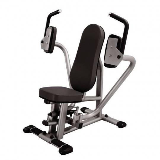 Trening obwodowy STEELFLEX CPD800 BLACK mięśnie klatki piersiowej,producent: STEELFLEX, photo: 1