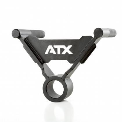 Uchwyt podwójny na gryf ATX® TBR-PAL-H28 T-Bar wiosłowanie,producent: ATX, zdjecie photo: 2 | online shop klubfitness.pl | sprzę