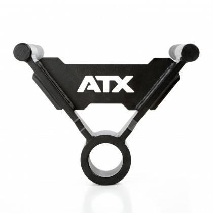Uchwyt podwójny na gryf ATX® TBR-PAL-H28 T-Bar wiosłowanie,producent: ATX, zdjecie photo: 3 | online shop klubfitness.pl | sprzę
