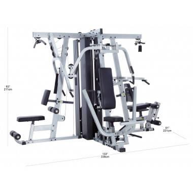 Atlas wielofunkcyjny do ćwiczeń Body-Solid EXM4000S | stosy 3x95kg Body-Solid - 3 | klubfitness.pl | sprzęt sportowy sport equip