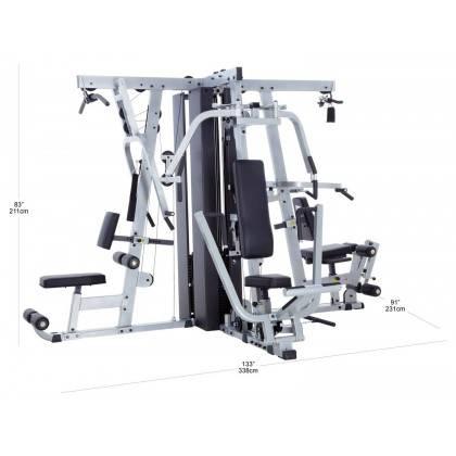 Atlas do ćwiczeń BODY-SOLID EXM4000S trzystanowiskowy,producent: BODY-SOLID, photo: 3