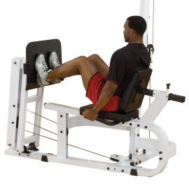 Przystawka do atlasu Body-Solid LP40S | prasa do wypychania ze stosem 95kg BodySolid - 1 | klubfitness.pl