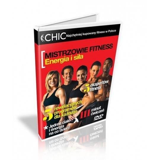 Ćwiczenia instruktażowe DVD Mistrzowie Fitness - energia i siła,producent: MayFly, zdjecie photo: 1 | online shop klubfitness.pl