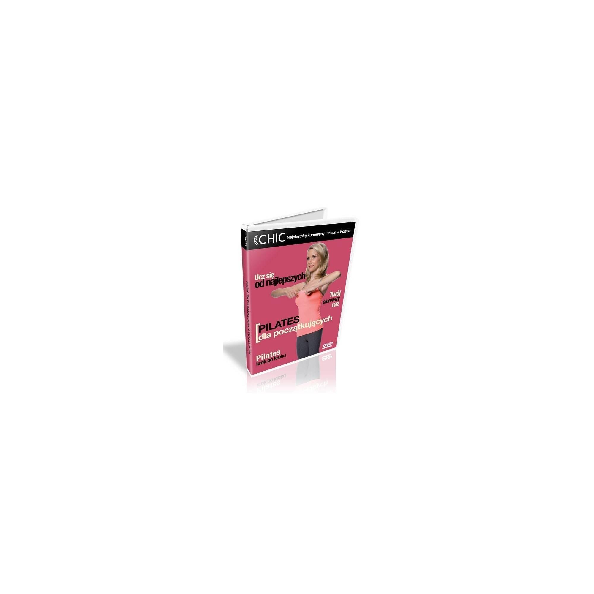 Ćwiczenia instruktażowe DVD Pilates Dla Początkujących,producent: MayFly, zdjecie photo: 1 | online shop klubfitness.pl | sprzęt