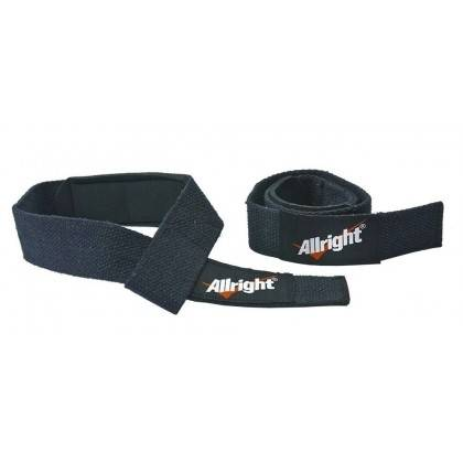 Taśmy do martwego ciągu ALLRIGHT czarne,producent: , zdjecie photo: 2 | online shop klubfitness.pl | sprzęt sportowy sport equip