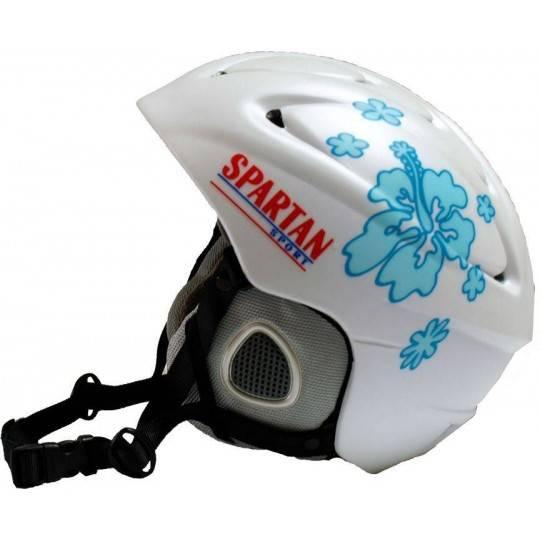 Kask narciarski snowboardowy regulowany SPARTAN SPORT biały,producent: , photo: 1
