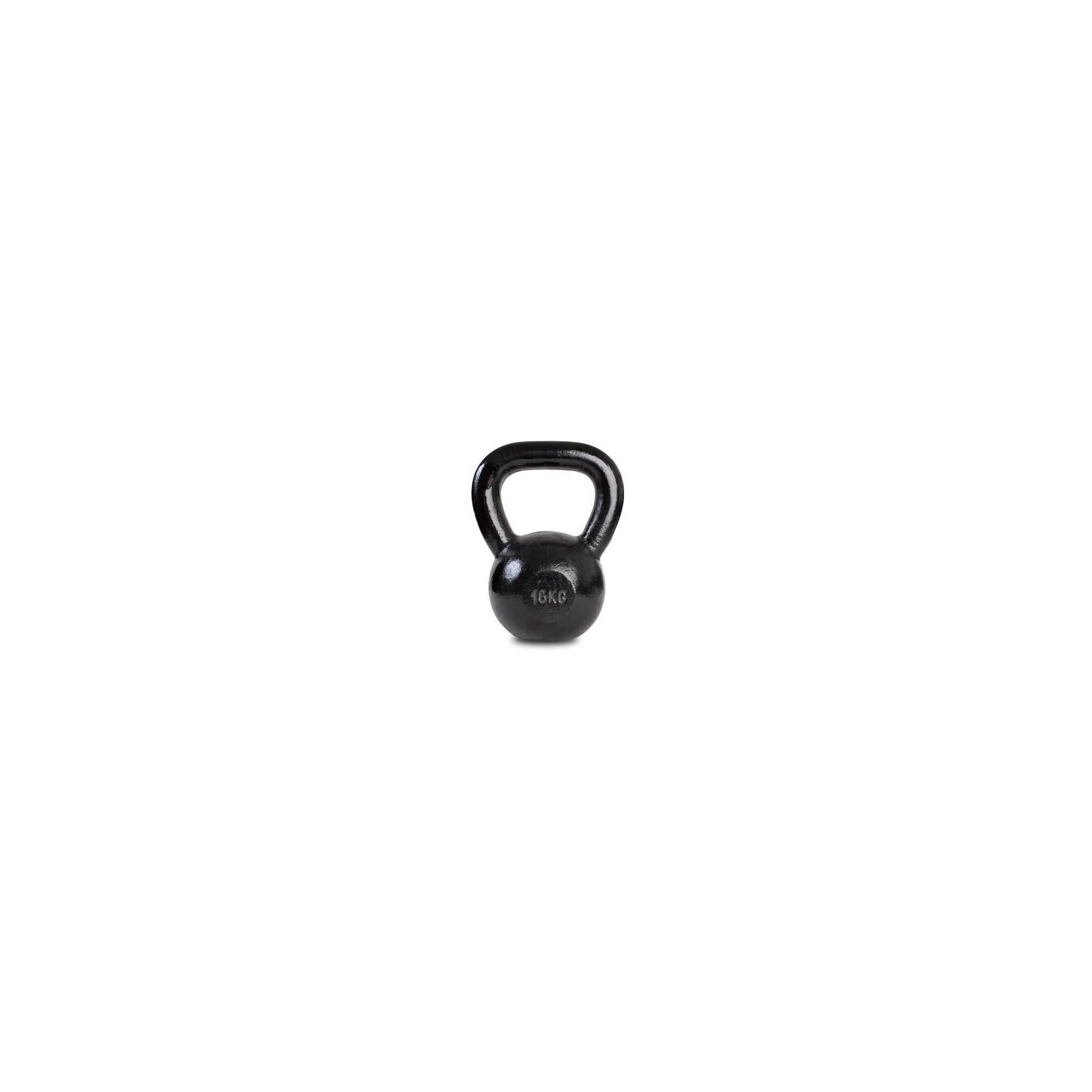 Hantla żeliwna SPARTAN KETTLEBELL 16kg czarna,producent: SPARTAN SPORT, photo: 1