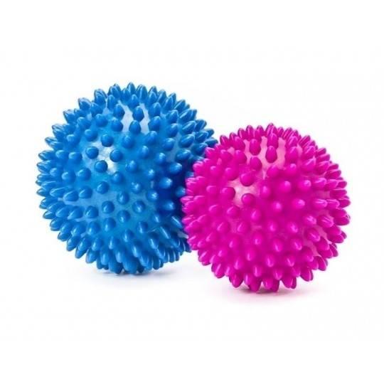 Piłka do masażu twarda 7,5 cm i 9 cm ALLRIGHT 2 sztuki jeżyki  - 1 | klubfitness.pl | sprzęt sportowy sport equipment