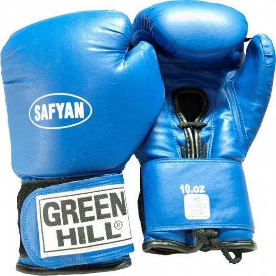 Rękawice bokserskie 10 oz GREEN HILL SAFYAN niebieskie,producent: , zdjecie photo: 1 | online shop klubfitness.pl | sprzęt sport
