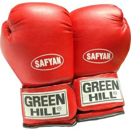 Rękawice bokserskie 10 oz GREEN HILL SAFYAN czerwone,producent: , zdjecie photo: 2 | online shop klubfitness.pl | sprzęt sportow