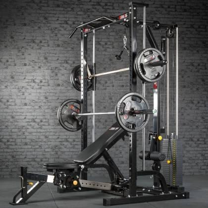 Suwnica Smith'a z wyciągiem 115kg MegaTec MT-MP-10+LMO-SW Multipress,producent: MegaTec, zdjecie photo: 16 | online shop klubfit