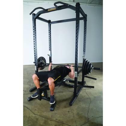 Klatka treningowa Powertec WB-PR15 Black | power rack | podpory drążek,producent: Powertec, zdjecie photo: 3 | online shop klubf