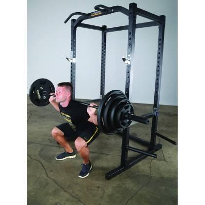 Klatka treningowa Powertec WB-PR15 Black | power rack | podpory drążek,producent: Powertec, zdjecie photo: 9 | online shop klubf