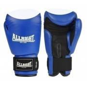 Rękawice bokserskie niebieskie 14oz Allright | skóra naturalna,producent: ALLRIGHT, zdjecie photo: 1 | klubfitness.pl | sprzęt s