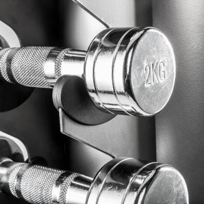 Stojak kolumnowy na hantle IFS R-3000 | na 10 par,producent: IRONSPORTS, zdjecie photo: 11 | online shop klubfitness.pl | sprzęt