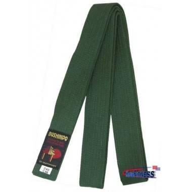 Pas do kimona Bushindo | zielony | długość 220cm - 300cm Bushindo - 2 | klubfitness.pl
