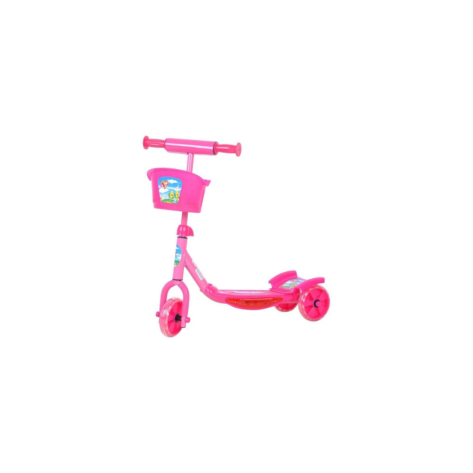 Hulajnoga dziecięca trójkołowa WORKER TRI różowa,producent: WORKER, zdjecie photo: 1 | klubfitness.pl | sprzęt sportowy sport eq