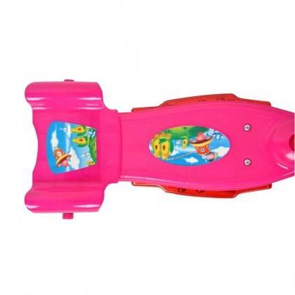 Hulajnoga dziecięca trójkołowa WORKER TRI różowa,producent: WORKER, zdjecie photo: 2 | klubfitness.pl | sprzęt sportowy sport eq