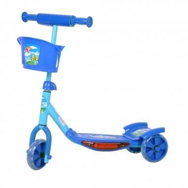 Hulajnoga dziecięca trójkołowa WORKER TRI niebieska,producent: WORKER, photo: 1