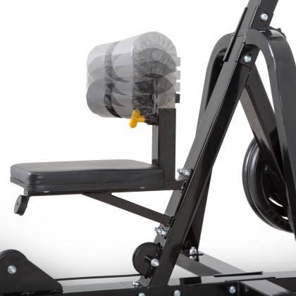 Stanowisko na mięśnie najszersze grzbietu MEGATEC MT-LMZ-10 30mm,producent: MEGATEC, photo: 8