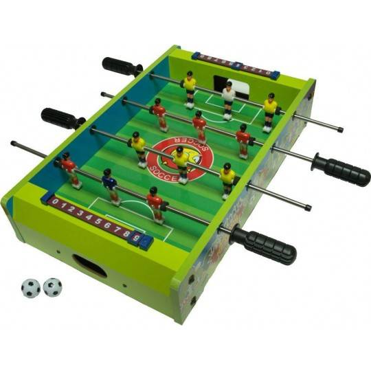Stół do gry w piłkarzyki MINI SPARTAN SPORT zielony,producent: , zdjecie photo: 1 | online shop klubfitness.pl | sprzęt sportowy