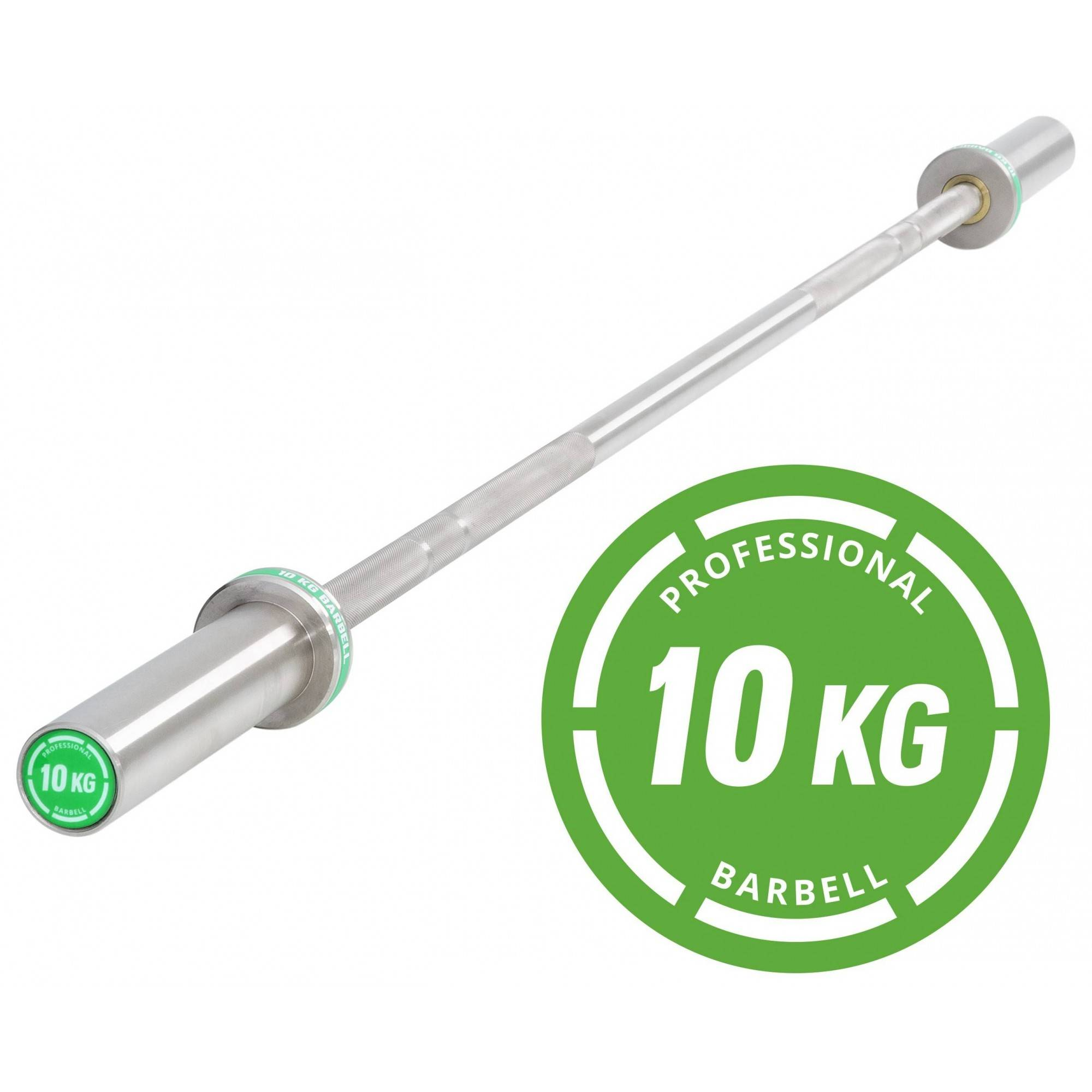 Gryf olimpijski prosty IRONSPORTS® LH-50-PRO-10 170cm/50mm/400kg,producent: IFS, photo: 1