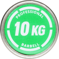 Gryf olimpijski prosty IRONSPORTS® LH-50-PRO-10 170cm/50mm/400kg,producent: IFS, photo: 7