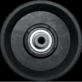 Krążek linowy na łożysku | bloczek do atlasu - wyciągu 114mm  - 1