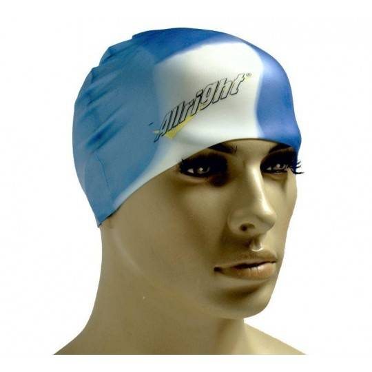 Czepek pływacki silikonowy ALLRIGHT multicolor ALLRIGHT - 1