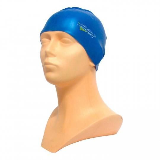 Czepek pływacki silikonowy ALLRIGHT niebieski,producent: ALLRIGHT, zdjecie photo: 1   online shop klubfitness.pl   sprzęt sporto