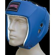Kask bokserski Fighter PU meczowy | niebieski,producent: FIGHTER, zdjecie photo: 1