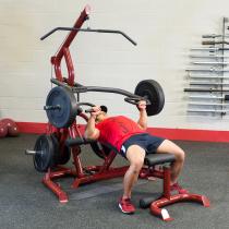 Atlas do ćwiczeń na wolne obciążenia Body-Solid GLGS100P4 czerwony Body-Solid - 3