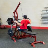 Atlas do ćwiczeń na wolne obciążenia Body-Solid GLGS100P4 czerwony Body-Solid - 6