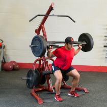 Atlas do ćwiczeń na wolne obciążenia Body-Solid GLGS100P4 czerwony,producent: Body-Solid, zdjecie photo: 9 | online shop klubfit