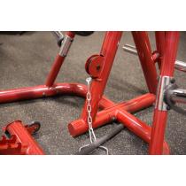 Atlas do ćwiczeń na wolne obciążenia Body-Solid GLGS100P4 czerwony,producent: Body-Solid, zdjecie photo: 23 | online shop klubfi