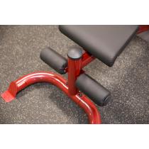 Atlas do ćwiczeń na wolne obciążenia Body-Solid GLGS100P4 czerwony Body-Solid - 23