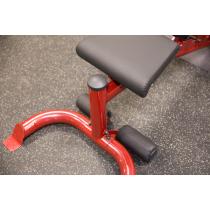 Atlas do ćwiczeń na wolne obciążenia Body-Solid GLGS100P4 czerwony Body-Solid - 24