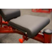 Atlas do ćwiczeń na wolne obciążenia Body-Solid GLGS100P4 czerwony,producent: Body-Solid, zdjecie photo: 27 | online shop klubfi