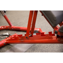 Atlas do ćwiczeń na wolne obciążenia Body-Solid GLGS100P4 czerwony,producent: Body-Solid, zdjecie photo: 28 | online shop klubfi