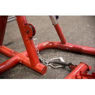 Atlas do ćwiczeń na wolne obciążenia Body-Solid GLGS100P4 czerwony Body-Solid - 28