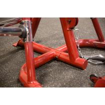 Atlas do ćwiczeń na wolne obciążenia Body-Solid GLGS100P4 czerwony,producent: Body-Solid, zdjecie photo: 32 | online shop klubfi