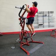Atlas do ćwiczeń na wolne obciążenia Body-Solid GLGS100P4 czerwony Body-Solid - 9