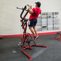 Atlas do ćwiczeń na wolne obciążenia Body-Solid GLGS100P4 czerwony,producent: Body-Solid, zdjecie photo: 10 | online shop klubfi