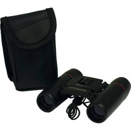 Lornetka kompaktowa gumowana POLAROID 8x21 z pokrowcem,producent: Polaroid, zdjecie photo: 2 | online shop klubfitness.pl | sprz