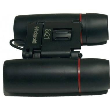 Lornetka kompaktowa gumowana POLAROID 8x21 z pokrowcem Polaroid - 8