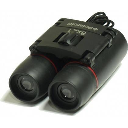 Lornetka kompaktowa gumowana POLAROID 8x21 z pokrowcem Polaroid - 5