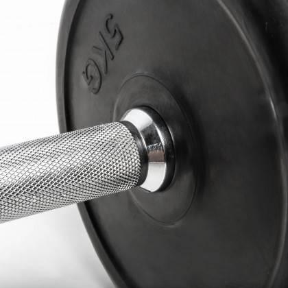 Hantla stała gumowana CHD® CHD-R-3 skok wagi co 2,5kg CHD® | California Heavy Duty - 7